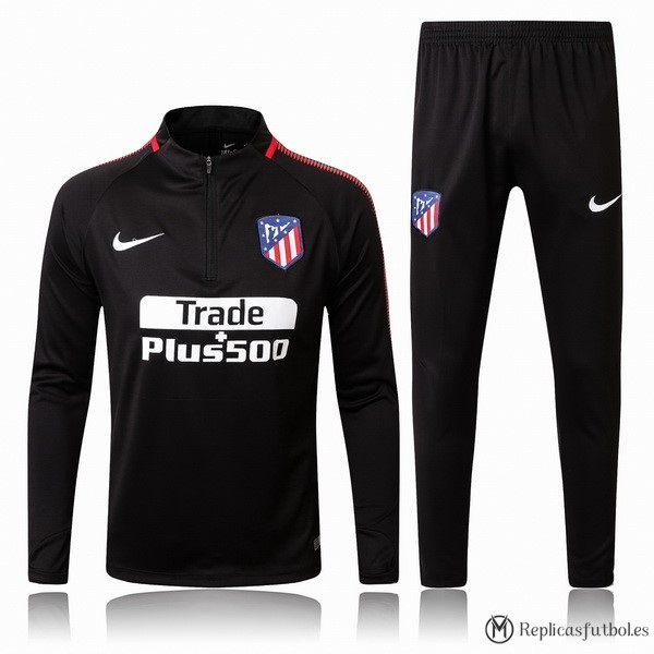 Chandal Atletico Madrid 2017/2018 Negro Replicas Futbol